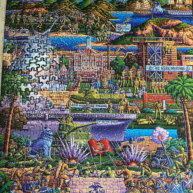 Finished the 3rd puzzle